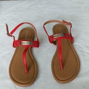 Nautica red Sandals